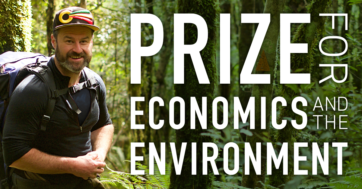 Dr Ed Hearnshaw Prize for Economics, Environment, Climate Change, Sustainability from Government Economics Network GEN student prize and professional award